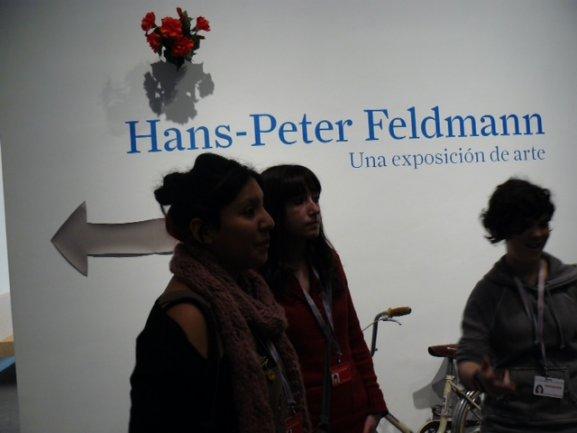 Los jóvenes del Equipo en la sesión de formación como educadores para el taller Feldmannia
