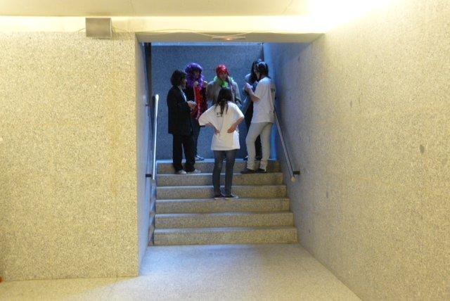 Procesos de grabación y preparación del corto, proyección y debate dentro del taller para jóvenes Fórum vídeo, diseñado por Equipo