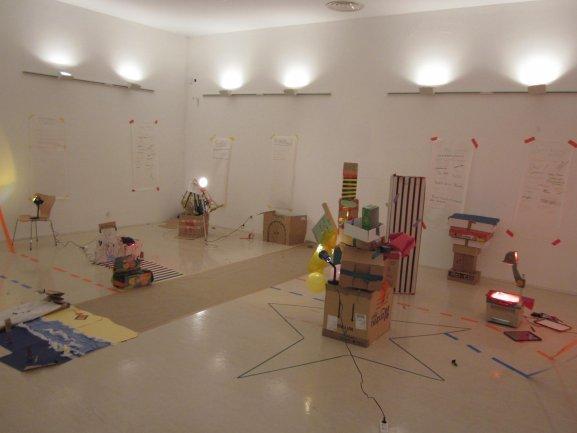Intervención en espacios del Museo. Museo Reina Sofía, 2011