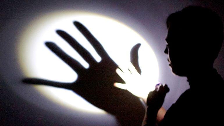 Instante del taller de luces y sombras