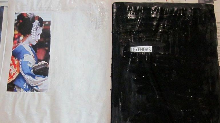 Resultados de un trabajo reflexivo y plástico sobre la pintura como elemento para ocultar y seleccionar contenidos, propuesto por Irene de Andrés
