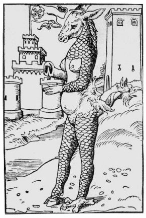 Anónimo, The pope-ass, 1522
