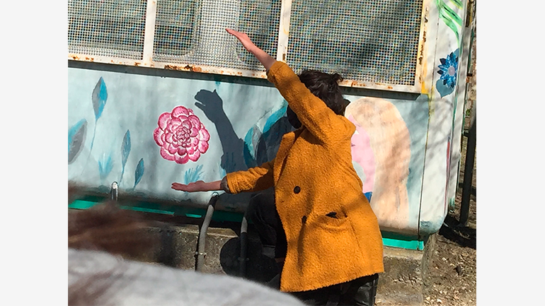 Brillante en la escuela. Museo Reina Sofía, 2021. Fotografía: Cristina Gutiérrez