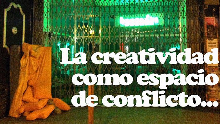 Javier Montero. La creatividad como espacio de conflicto (detalle), 2015