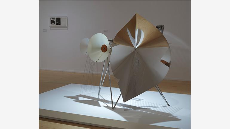 Vista de sala de la exposición Disonata. Arte en sonido hasta 1980. Museo Reina Sofía, 2020