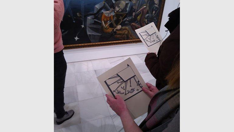 Visita En detalle: Un mundo en el Museo Reina Sofía. Javier Sanjurjo, 2021