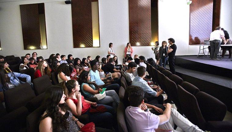 Encuentro de alumnos de Secundaria.