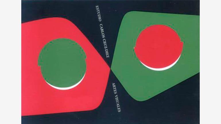 Diseño de papelería para el Estudio de Artes Visuales de Carlos Cruz-Diez, Caracas, 1957. © Estate of Carlos Cruz-Diez / Bridgeman Images, Madrid, 2021