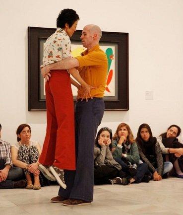 Asaltos de Danza 2014. Museo Reina Sofía. Fotografía de Ignacio Urrutia