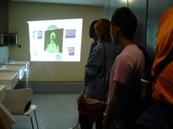 Gymkanearte propone a los jóvenes acciones artísticas y nuevos espacios donde descubrir arte