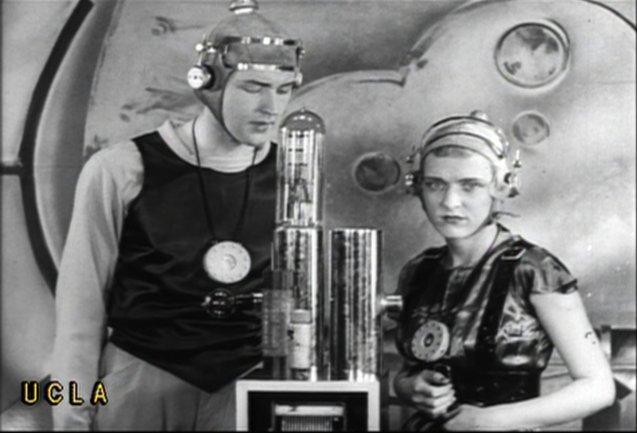 imagen de Harlan Tarbell. Buck Rogers in the 25th Century, 1934.  Copia procedente del UCLA Film and Television Archive, Los Ángeles