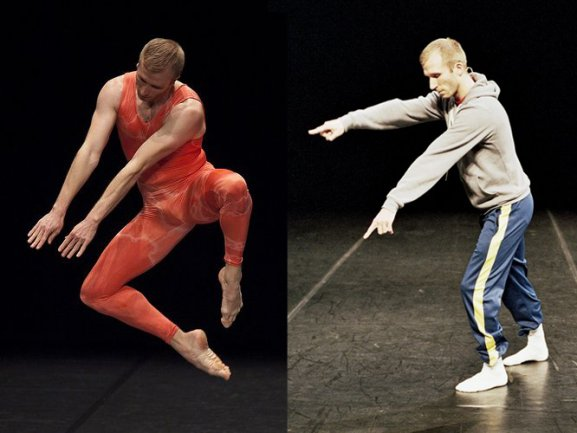 Jérôme Bel. Cedric Andrieux. Performance, 2009