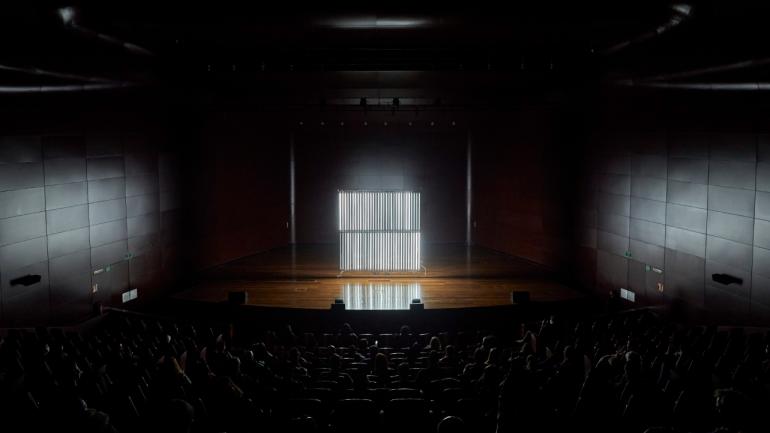 Fotografías de la Oscar Martín. Meta Music Machines. Museo Reina Sofía, 2021