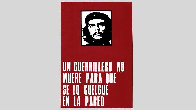 Roberto Jacoby. Un guerrillero no muere para que se lo cuelgue en la pared. Cartel, 1968