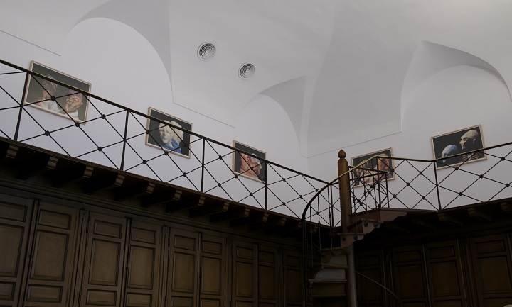 Vista de sala de la exposición Thomas Schütte. Retrospección (2010)