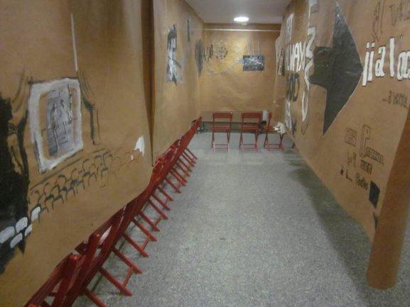 Instalación sin público. Taller III