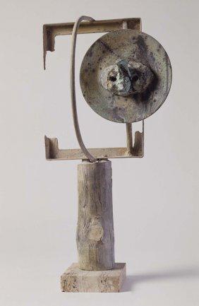 Joan Miró. Tête dans la nuit (Cabeza en la noche), 1968. Bronce. Museo Nacional Centro de Arte Reina Sofía