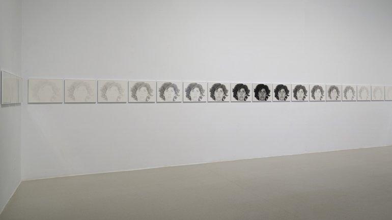 Vistas de la exposición Esther Ferrer. Todas las variaciones son válidas, incluida esta