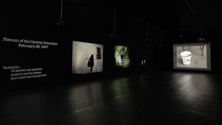 Vistas de la exposición William Kentridge. Basta y sobra