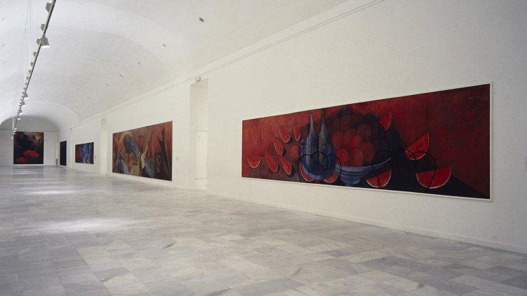 Exhibition view. Rufino Tamayo. Paintings, 1988