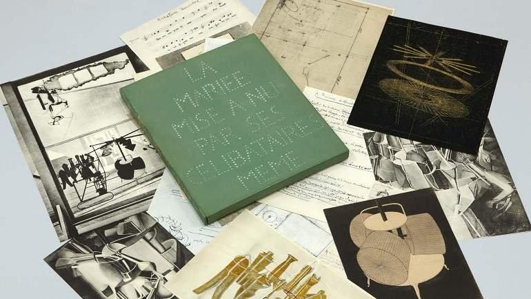 Marcel Duchamp. La Mariée mise à nu par ses célibataires même (Boîte verte), 1934. Escultura. Colección Museo Nacional Centro de Arte Reina Sofía, Madrid