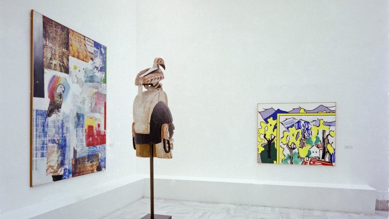 Exhibition view. Beyeler Collection, 1989