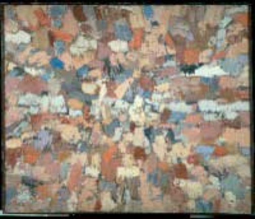 Fermín Aguayo. Tierras rosas, 1955