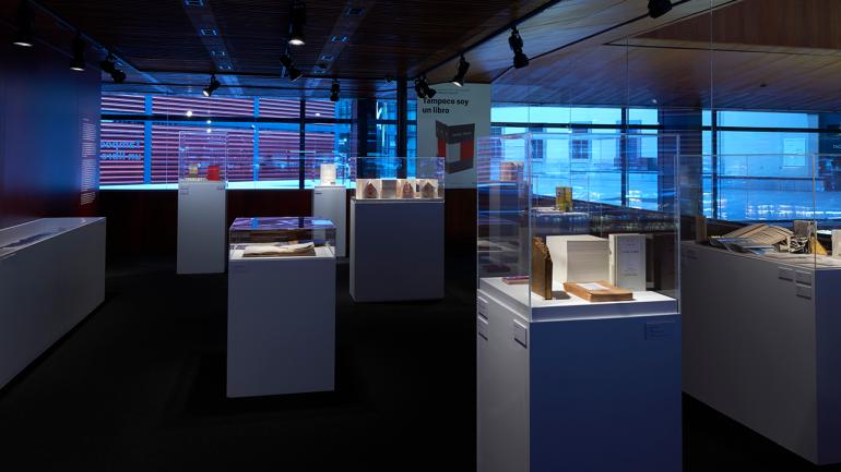 Vista de la exposición Tampoco soy un libro. Museo Nacional Centro de Arte Reina Sofía, 2016