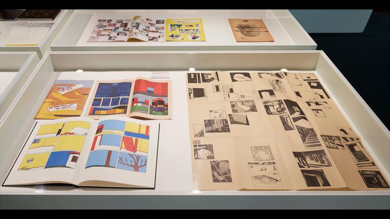 View of the exhibition Comics Revisited. Museo Nacional Centro de Arte Reina Sofía, 2018