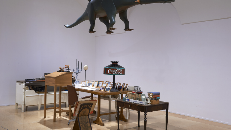 Exhibition view. Time and Things. The Home Studio of Hanne Darboven, 2014