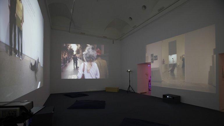 Vista de sala de la exposición Tracey Rose (x), 2014