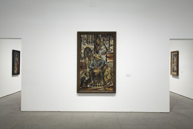 Vista de sala de la exposición. María Blanchard, 2013