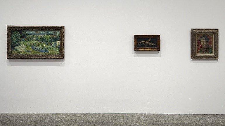 Vista de sala de la exposición. Coleccionismo y Modernidad. Dos casos de estudio: Colecciones Im Obersteg y Rudolf Staechelin, 2015