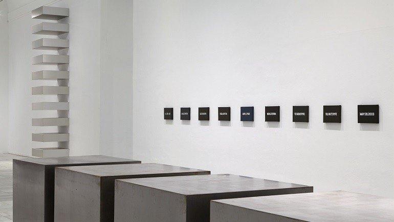 Vista de sala de la exposición Fuego blanco. La colección moderna del Kunstmuseum Basel, 2015