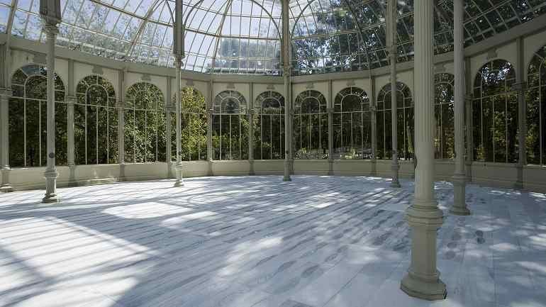 Vista de sala de la exposición. Evaristo Bellotti. Escultura, 2008