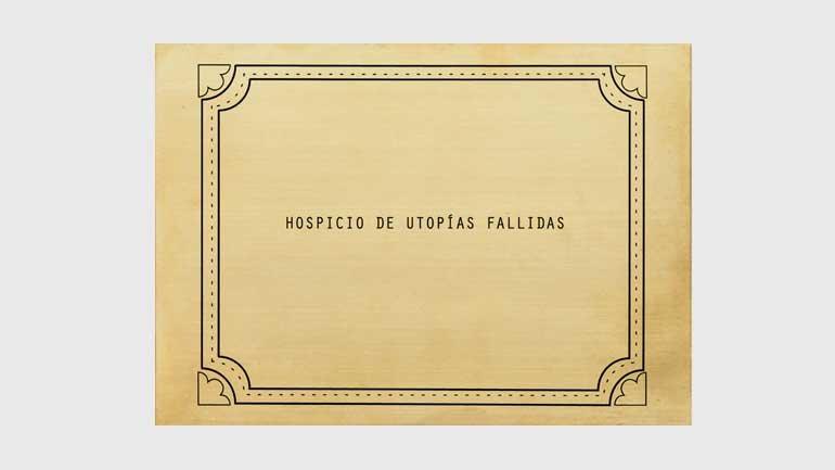 Luis Camnitzer, de la serie Utopías fallidas, 2010/2018. Cortesía Luis Camnitzer; Alexander Gray Associates, Nueva York; Parra & Romero, Madrid e Ibiza © Luis Camnitzer, Madrid, 2018