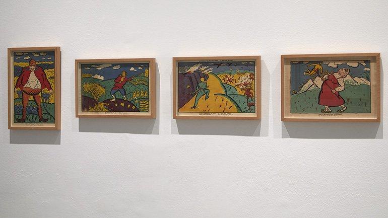 Exhibition view Russian Dada 1914–1924