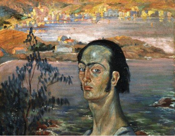Salvador Dalí. Autorretrato con cuello rafaelesco, 1921. Fundació Gala-Salvador Dalí, Figueres