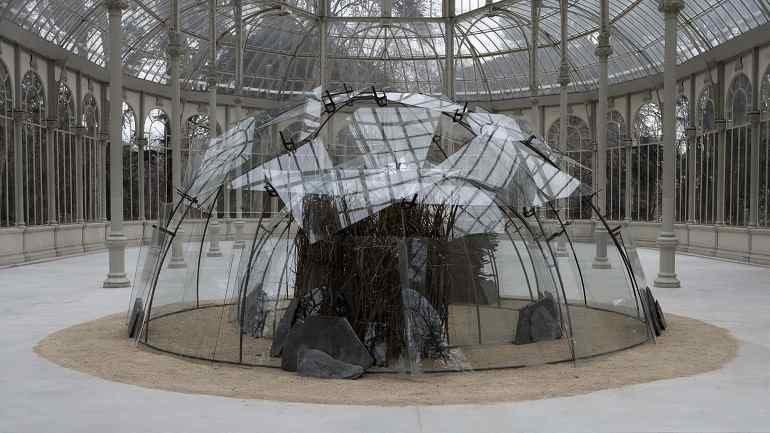 Mario Merz. Igloo del Palacio de las Alhajas, 1982. Escultura. Colección Museo Nacional Centro de Arte Reina Sofía, Madrid