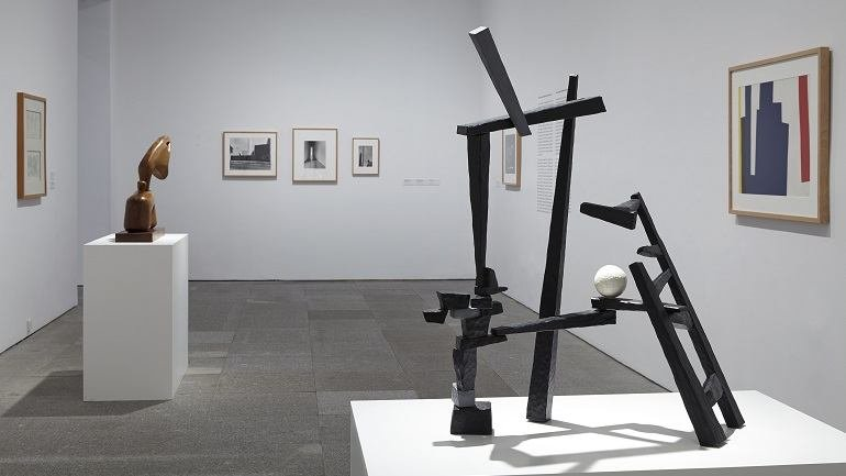 Exhibition view. The return of the snake, 2014