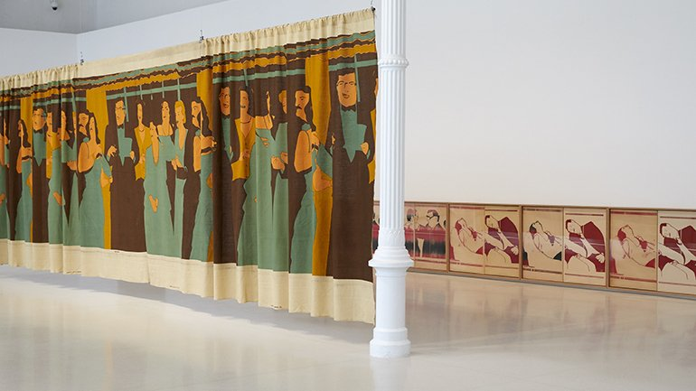 Exhibition view Beatriz González