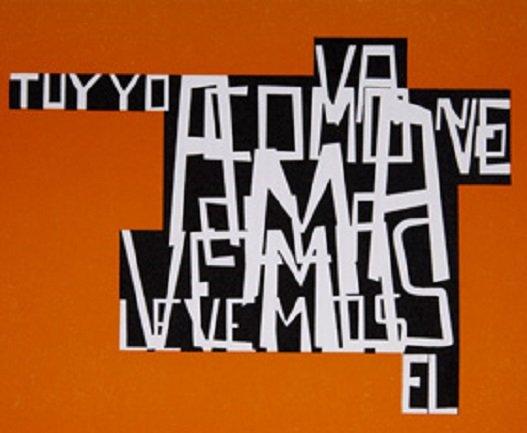 Fernando Millán. Tú y yo,1968. Inédito. Colección privada de Tito Domínguez.