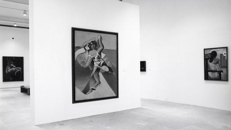 Vista de sala de la exposición Dalí joven. 1918-1930, 1994