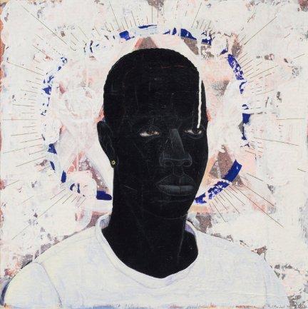 Kerry Jame Marshall. Lost boys AKA Black Johnny, 1993. Cortesía del artista. Galería Jack Shainman, NY, y Koplin Del Rio, CA