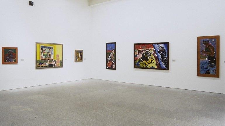 Exhibition view. R. B. Kitaj. Un americano en Europa, 1998