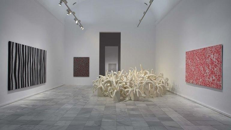 Exhibition view. Yayoi Kusama, 2011