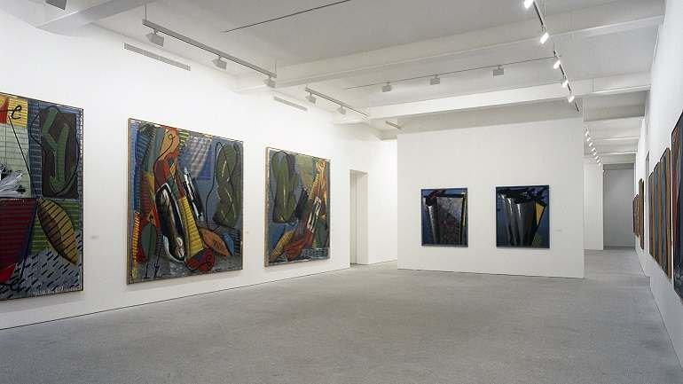 Vista de sala de la exposición Markus Lüpertz. Retrospectiva. 1963 – 1990, 1991