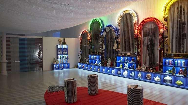 Exhibition view. Miralda. De gustibus non disputandum, 2010