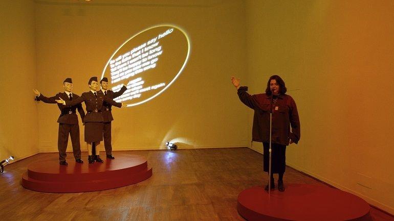 Exhibition view. Maria Papadimitriou. We'll Meet Again, 2004