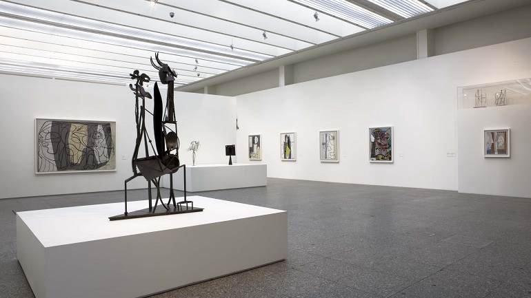 Vista de sala de la exposición. París. La colección del Museo Nacional Picasso de París, 2008